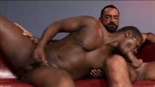 Hungriger schwuler Typ fickt seinen Freund