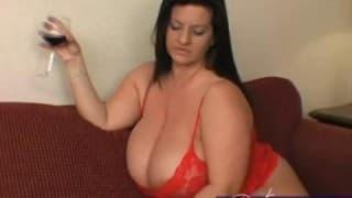 Sex mit einem großen Mädchen