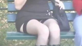 Versteckte Kamera in der Öffentlichkeit