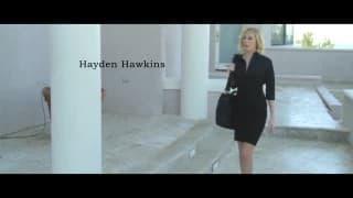 Blauer Schmetterling mit Hayden Hawkins