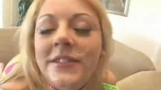 Viele Pimmel für eine spermahungrige Blondine