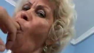 Fetter Pimmel für eine alte Frau
