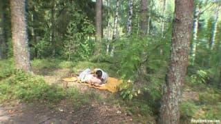 Heißer Fick im Wald
