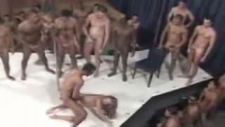 Gang Bang auf brasilianische Weise