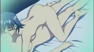 Langes Video mit aufregendem Hentai
