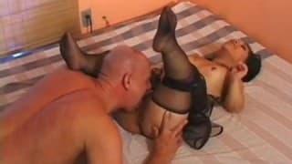 Der Liliputaner Bridget Powers will Sex