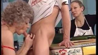 Sammlung von Sexszenen alter Menschen