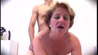 reifer grossmutter stadt