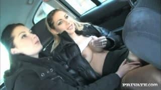 Belicia a& Rachel Evans - Ficken und Blasen!