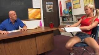 Crista Moore geile Studentin mit großen Titten