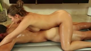 Die sexy Massage von Abby Cross