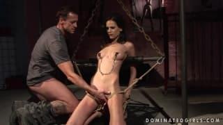 Sexuelle Unterwerfung mit Amanda Baby