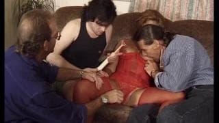 Barbara gefickt & bekommt Double Penetration