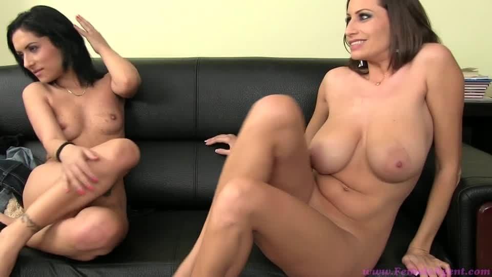 zwei reife frauen beim porno casting