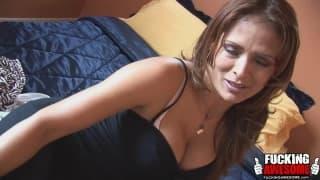Monique Fuentes macht einen Muschi-Smoothie