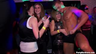 Eine gute Party mit notgeilen Frauen