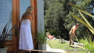 Brandi Love ist ein hübscher Cougar!