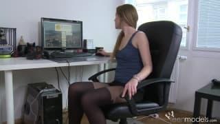 Masturbation im Büro