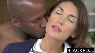 August Ames fickt mit Prince Yahshua