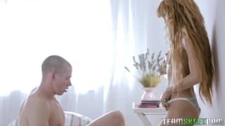 Janette und ihr schöner Arsch beim heißen Sex
