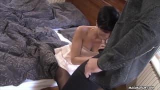 Gabriella Gucci es una morena que quiere sexo