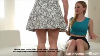 Riley und Maryann in einem Pornocasting