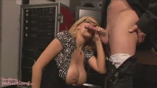 Katie Kox kriegt einen Creampie von Jack Vegas