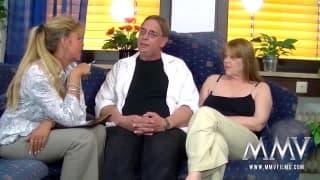 Petra Wegat kriegt Sperma auf ihren Titten