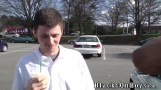 Sean Dean kriegt einen schwarzen Schwanz anal