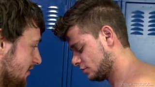 Schwule Szene mit AJ Monroe und Scott Harbor