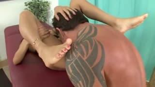 Veronica Rodriguez, der Fußfetisch und der Sex