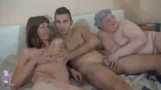 Luise hat Sex mit vier Personen