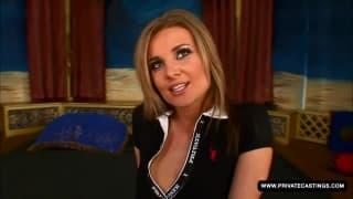 Iveta will Sex in diesem Pornocasting