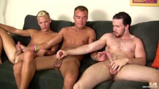 Nick Decker, Jay Thomas und Ryan Ashland