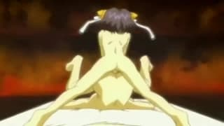 Dieses Hentai hat auch Schwanz zum genießen