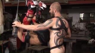 Geoffrey Paine fickt den Arsch von Sylvain Lyk