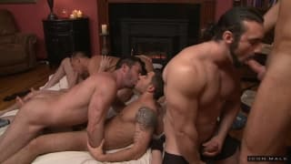 Große Orgie mit dem Pornostar Billy Santoro