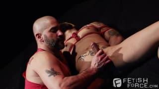 Zwei Liebhaber mit etwas BDSM und mehr