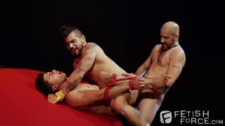 Tony Buff with Draven Torres und Armond Rizzo