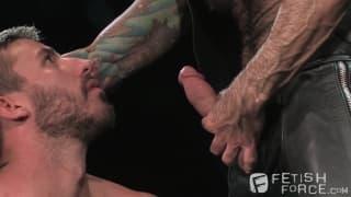 Nick Moretti und Logan Scott in BDSM Szene