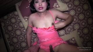 Natty bekommt Arschloch in POV penetriert